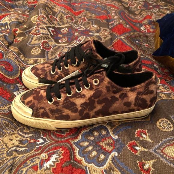 Zara Shoes   Men Animal Print Sneakers
